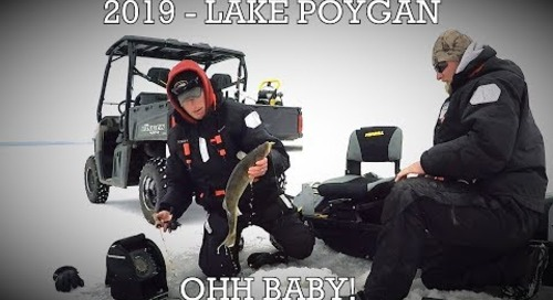 2019 Lake Poygan Walleye Hunt!