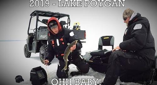 2019 Lake Poygan Walleye Hunt!