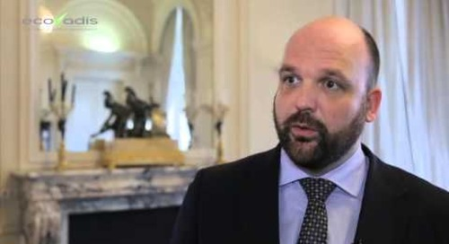 Ecovadis 2014 Client Committee - Interview with Tom Schalenbourg (Toyota Material Handling Europe)