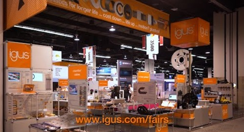 Pacific Design and Manufacturing 2020 igus® Booth Tour