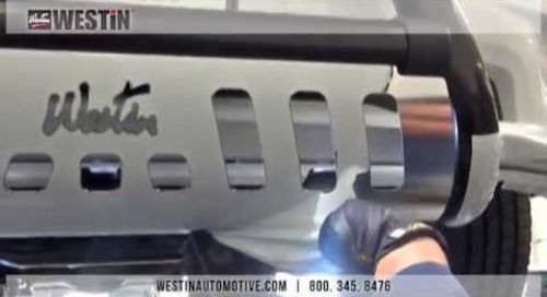 Installation of Westin Ultimate Bull Bar on 2014 Dodge Ram 1500