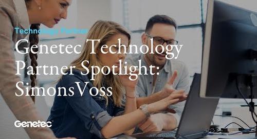Genetec Technology Partner Spotlight: SimonsVoss