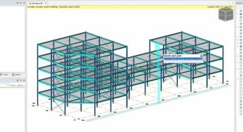 Simple Wind Load in Tekla Structural Designer