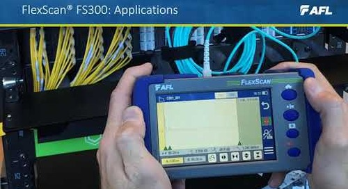 FlexScan®  FS300 Multimode and Single-mode Quad OTDR