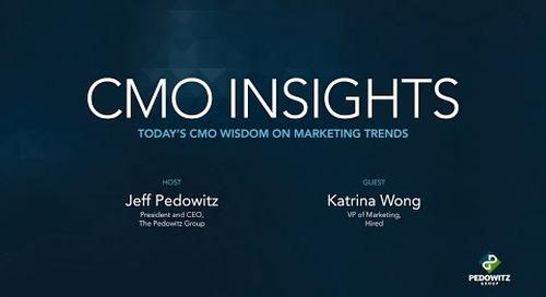 CMO Insights: Katrina Wong, VP of Marketing, Hired