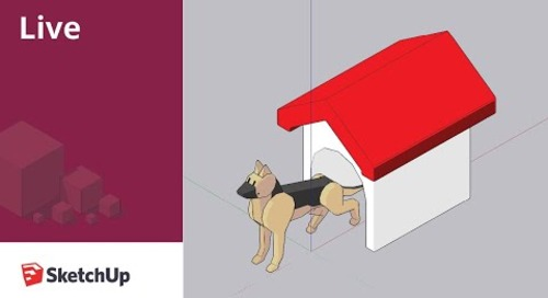 Modeling a Low Poly Animal in SketchUp Live!