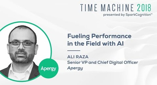 Fueling Performance in the Field with AI - Time Machine 2018