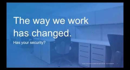 Cisco cloud security  - EMEA Partner Webcast with Yoni Fine
