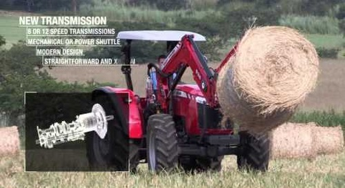 Massey Ferguson Global Series tractors - Africa, Middle East