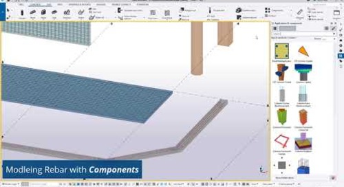 Tekla Structures: Placing and Quantifying Basic Reinforcement