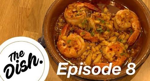 The Dish: Beachin' Shrimp's Gambas Al Ajillo