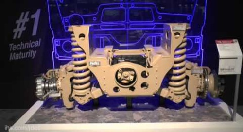 AUSA 2016: Meritor's independent suspension proposal for FMTV A2