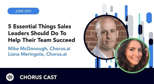 5 essential things sales leaders should do to help their team succeed