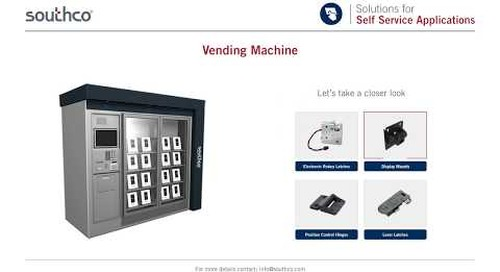 Access Hardware for Vending Machines
