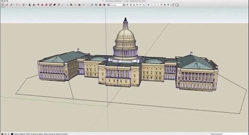 Speed Modeling: U.S. Capitol Building