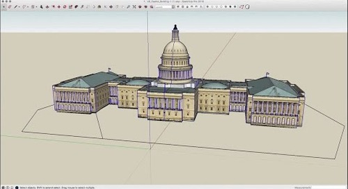 Speed Modeling: U.S. Capitol Building