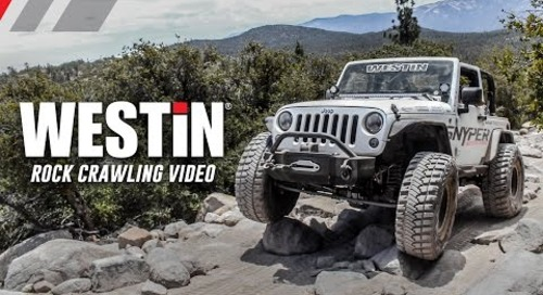 Snyper Westin Offroad Rock Crawling Jeep Event
