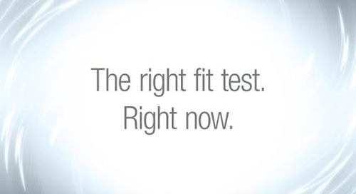 Helping you get the ear fit testing results you can trust.