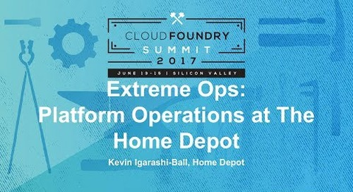 Extreme Ops: Platform Operations at The Home Depot