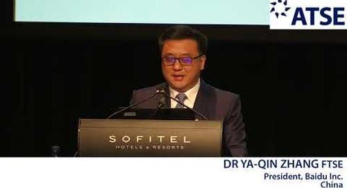ATSE 2017 New Foreign Fellow: Dr Ya-Qin Zhang FTSE