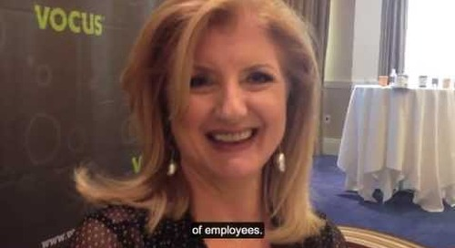 Arianna Huffington Talks to MarketingProfs at Demand Success Vocus Conference2013