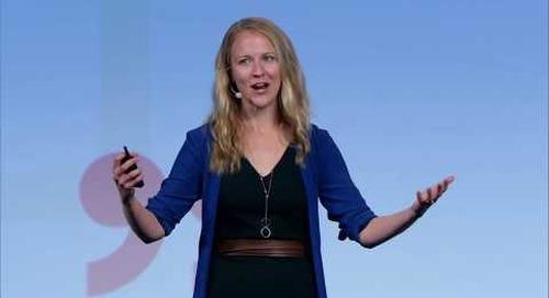 Sr Product Manager Lindsay Zelinski Onstage at JOIN 2019: Data Platforms / Developer Ecosystems