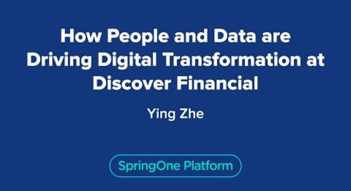 How People and Data are Driving Digital Transformation at Discover Financial