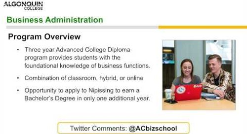 Business-Administration Advanced Diploma - Webinar