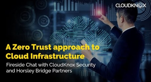 A Zero Trust approach to Cloud Infrastructure