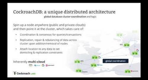 Architecture of a Distributed SQL Database vs PostgreSQL