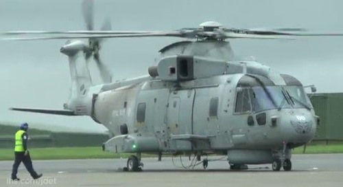 Dutch NH90 helicopters deploy to RNAS Culdrose