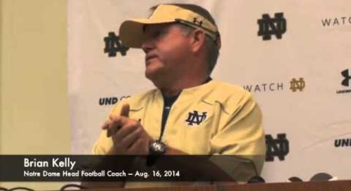 ND's Brian Kelly On The Academic Investigation