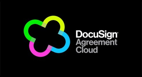 The DocuSign Agreement Cloud