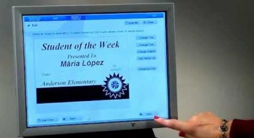 VariQuest Awards Maker - Creating an Award