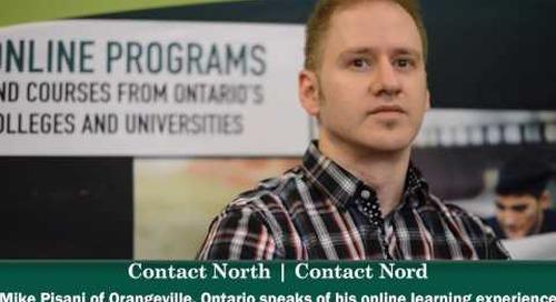 Online learning - Mike Pisani, Stratford, Ontario