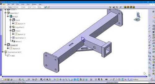 Pattern Problems Part 2: How to mirror a pattern in CATIA V5