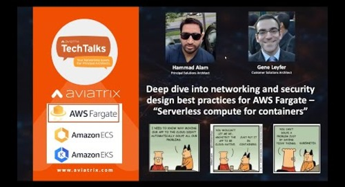 TechTalk | Networking and Security design best practices for AWS Fargate
