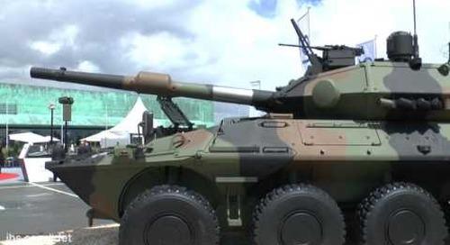 Eurosatory 2016: CIO unveils Centauro 2 tank destroyer