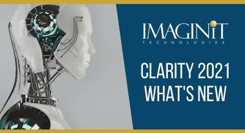 IMAGINiT Clarity - What's New in Clarity 2021