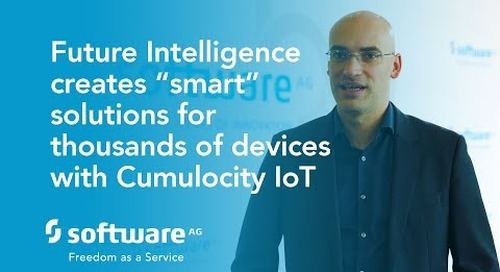 "Future Intelligence creates ""smart"" solutions for thousands of devices with Cumulocity IoT"