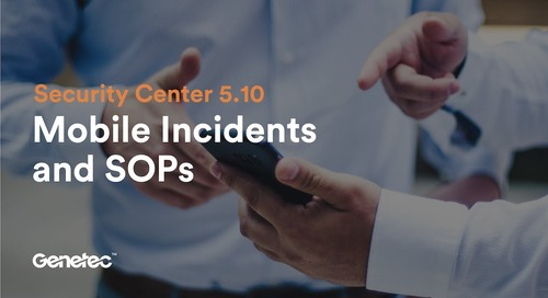 Feature spotlight: Mobile incidents and SOPs