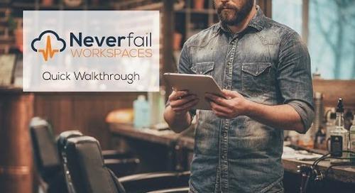 Neverfail Workspaces   Quick Demo