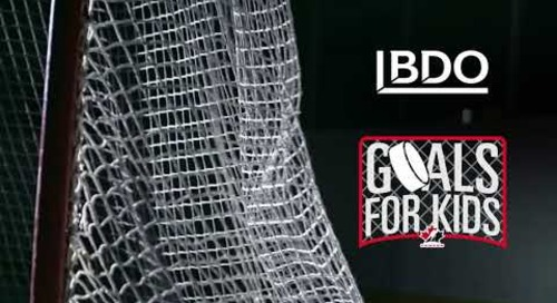 Goals For Kids | BDO Canada