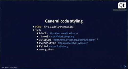 Develop Your First Qt for Python Application {On-demand webinar}