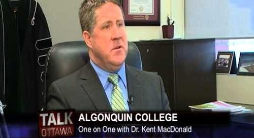 Talk Ottawa interviews AC President Dr. Kent MacDonald - Part 2