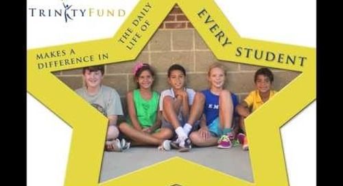 You helped us Stuff the Bus with Lions!  Thank you from the Trinity Fund.