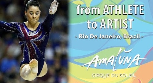 Athlete to Artist - Amaluna [Webserie]