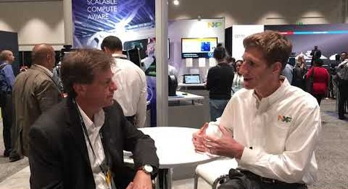 NXP discusses its latest ARM-based processor announcements at arm TechCon