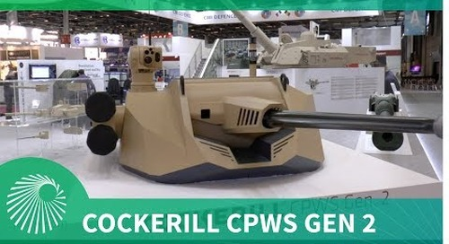 Cockerill Protected Weapon Station Generation 2