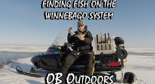 How to Find Fish on Lake Winnebago / Poygan - Ice Fishing